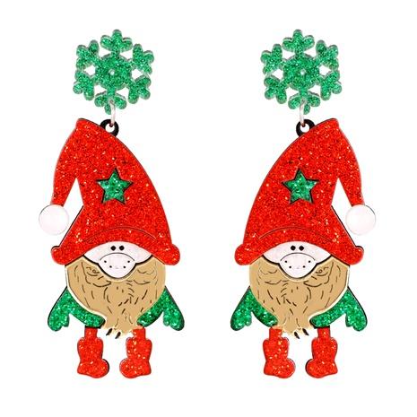 Christmas Fashion Elk Snowman Santa Earrings  NHJJ286126's discount tags