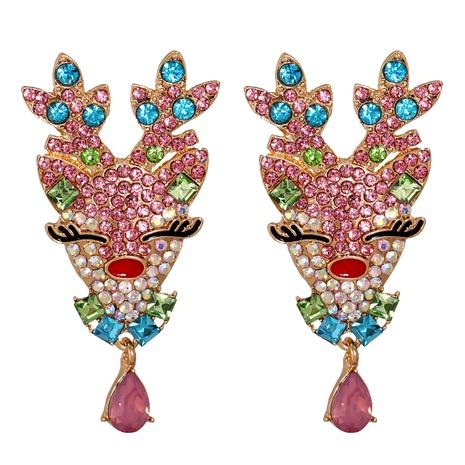 Christmas Cartoon Elk Simple Earrings NHJJ286132's discount tags