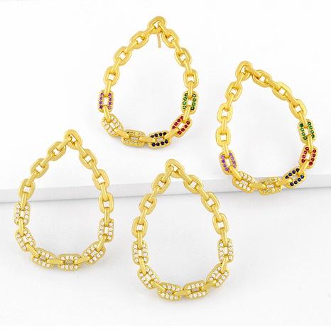 simple chain earrings  NHAS286146's discount tags