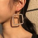 simple fashion imitation pearl earrings NHMD286162