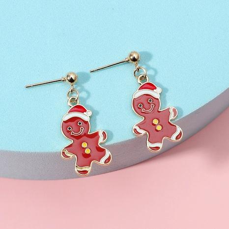 fashion cute cartoon Christmas earrings  NHKQ286215's discount tags