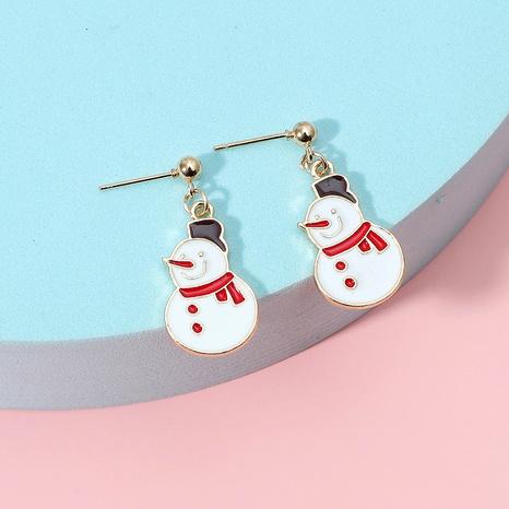 Christmas series fashion retro earrings NHKQ286216's discount tags