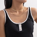 retro multilayer tassel necklace NHXR286271