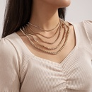 retro multilayer tassel necklace NHXR286304