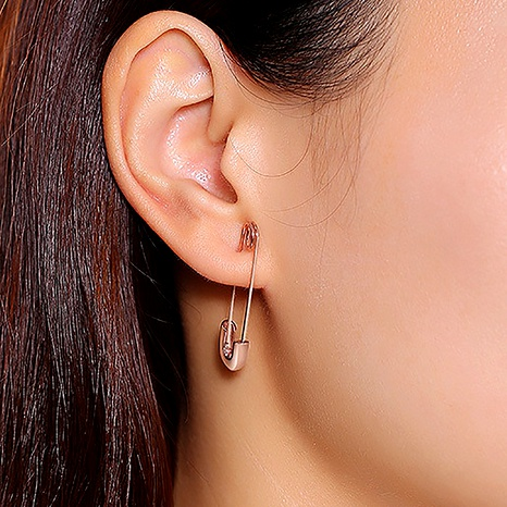 simple pin earrings NHDP286383's discount tags