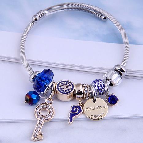 fashion metal lock bracelet NHSC287401's discount tags