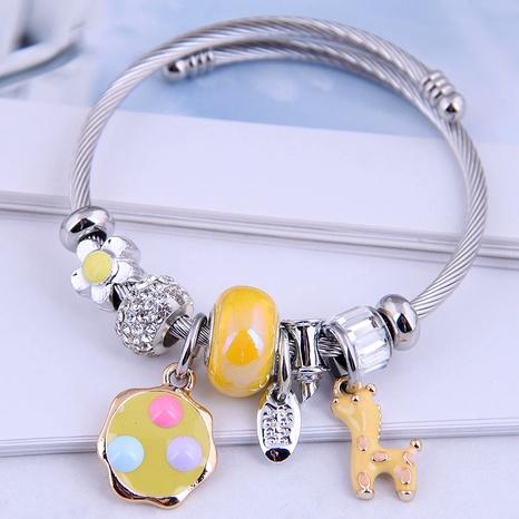 fashion metal simple plum deer bracelet NHSC287391's discount tags