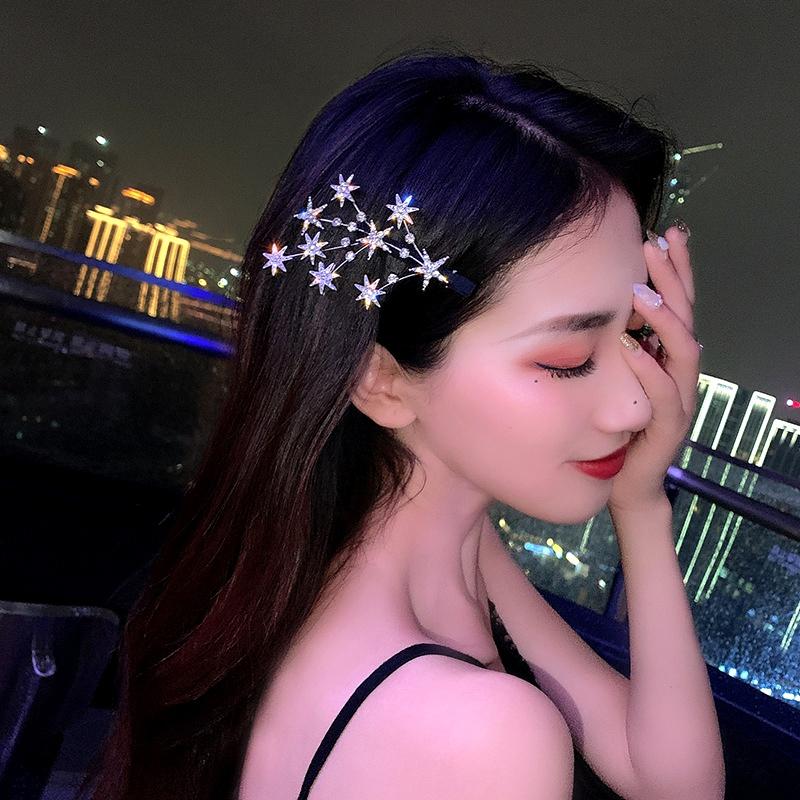 five-pointed star full diamond hairpin NHCQ286608