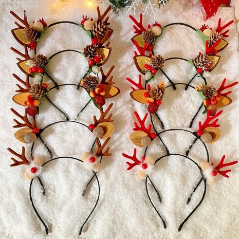 Christmas Antlers Cartoon Headband  NHCQ286620's discount tags