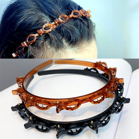 retro double layer headband NHFS286629's discount tags