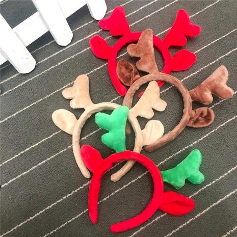 Diadema de felpa linda de alce navideño NHFS286651's discount tags