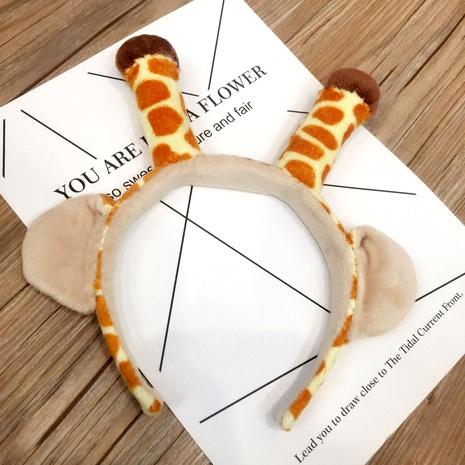 Christmas antlers fox ears plush headband  NHFS286652's discount tags