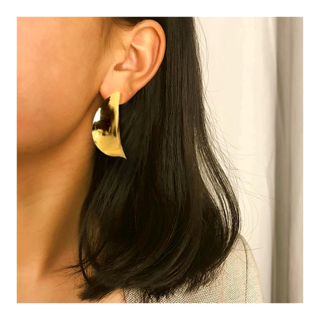 retro style alloy plating leaf earrings  NHCT286686's discount tags