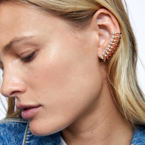 asymmetrical alloy ear clips  NHCT286687's discount tags