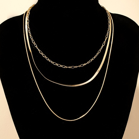new snake chain necklaces NHGU286696's discount tags