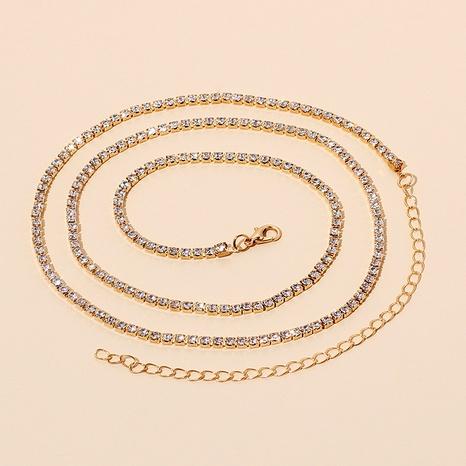 Fashion all-match  rhinestone waist chain  NHRN286723's discount tags