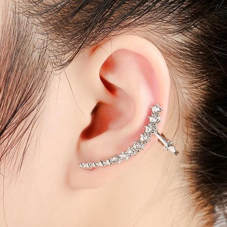 New shiny star diamond ear clip  NHYE286746's discount tags
