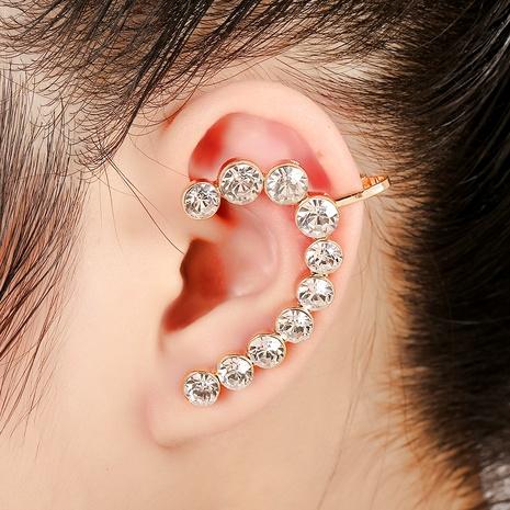 Korean  punk ear clip NHYE286748's discount tags