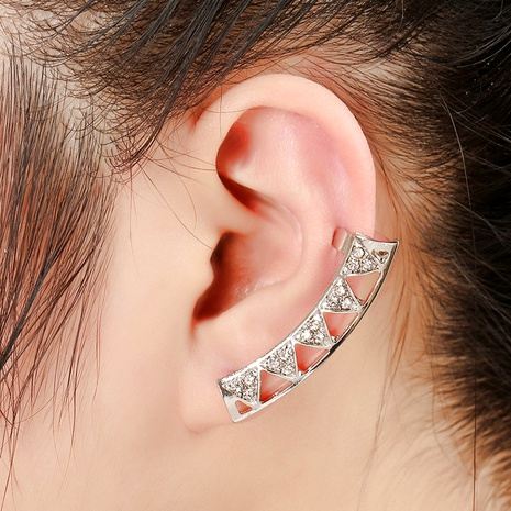 creative  fashion trendy alloy diamond unilateral ear clip  NHYE286751's discount tags