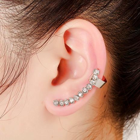 Korean fashion rhinestone ear clips NHYE286755's discount tags
