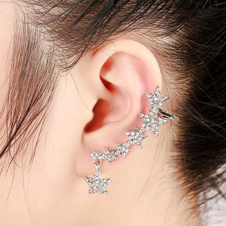 new creative  fashion all-match diamond ear clip  NHYE286758's discount tags