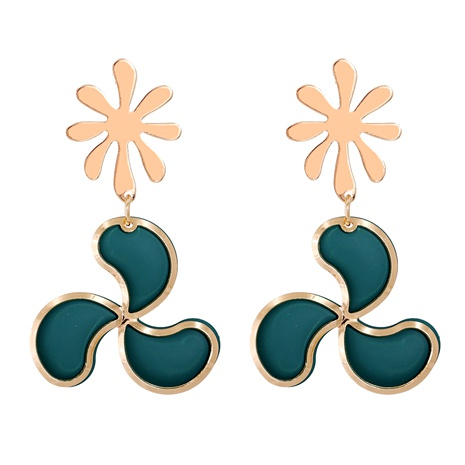 fashion leaf earrings  NHJJ286797's discount tags