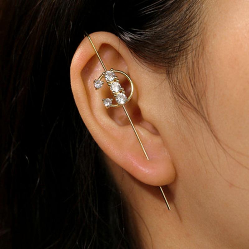 fashion simple  ear bone clip  NHNT286936
