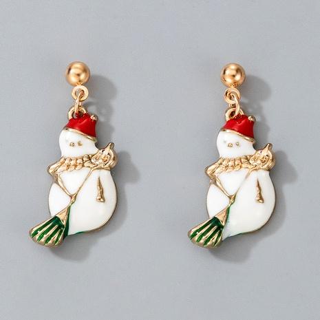 Christmas snowman cute fashion earrings NHGY287387's discount tags