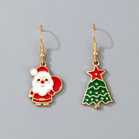 cute Christmas Santa Claus pendant earrings  NHGY287377's discount tags