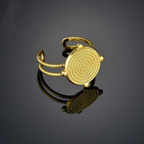 Mode Edelstahl offener verstellbarer Ring NHHF286523's discount tags