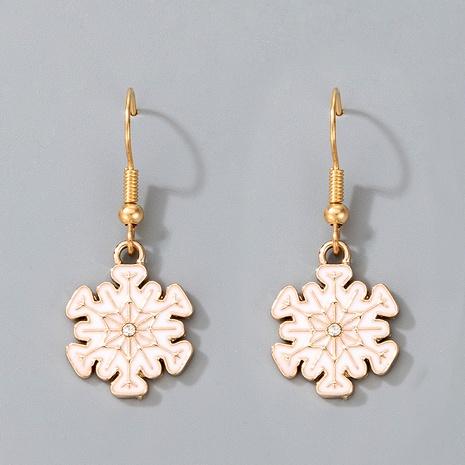cute Christmas snowflake earrings  NHGY287370's discount tags