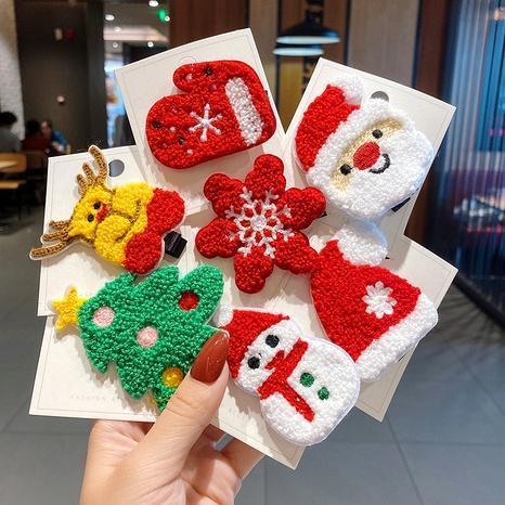 Christmas cute hair clip NHCQ286617's discount tags