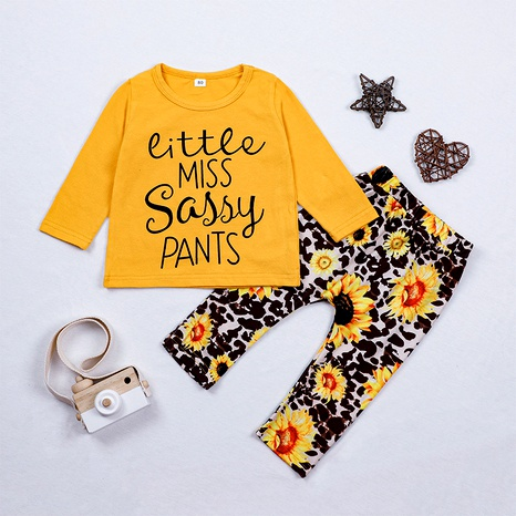 long-sleeved T-shirt  pants two piece  NHLF287060's discount tags