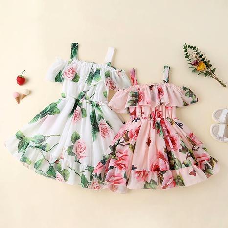 nuevo vestido sling coreano de gasa honda NHLF287059's discount tags