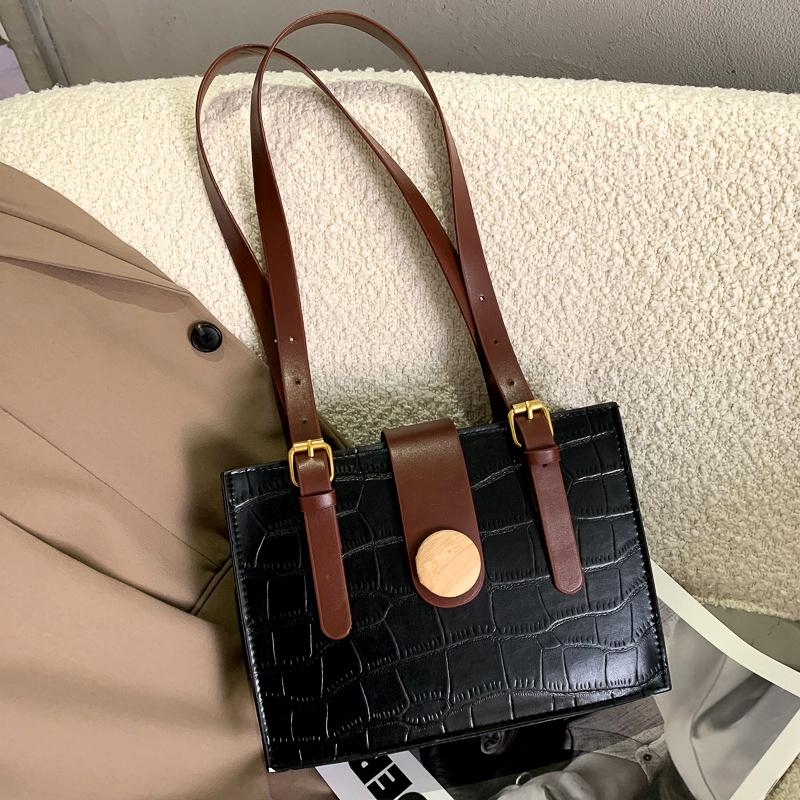 fashion single shoulder small square bag NHEX287117