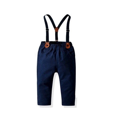 New boys' overalls  baby  stretch trousers NHTB287203's discount tags