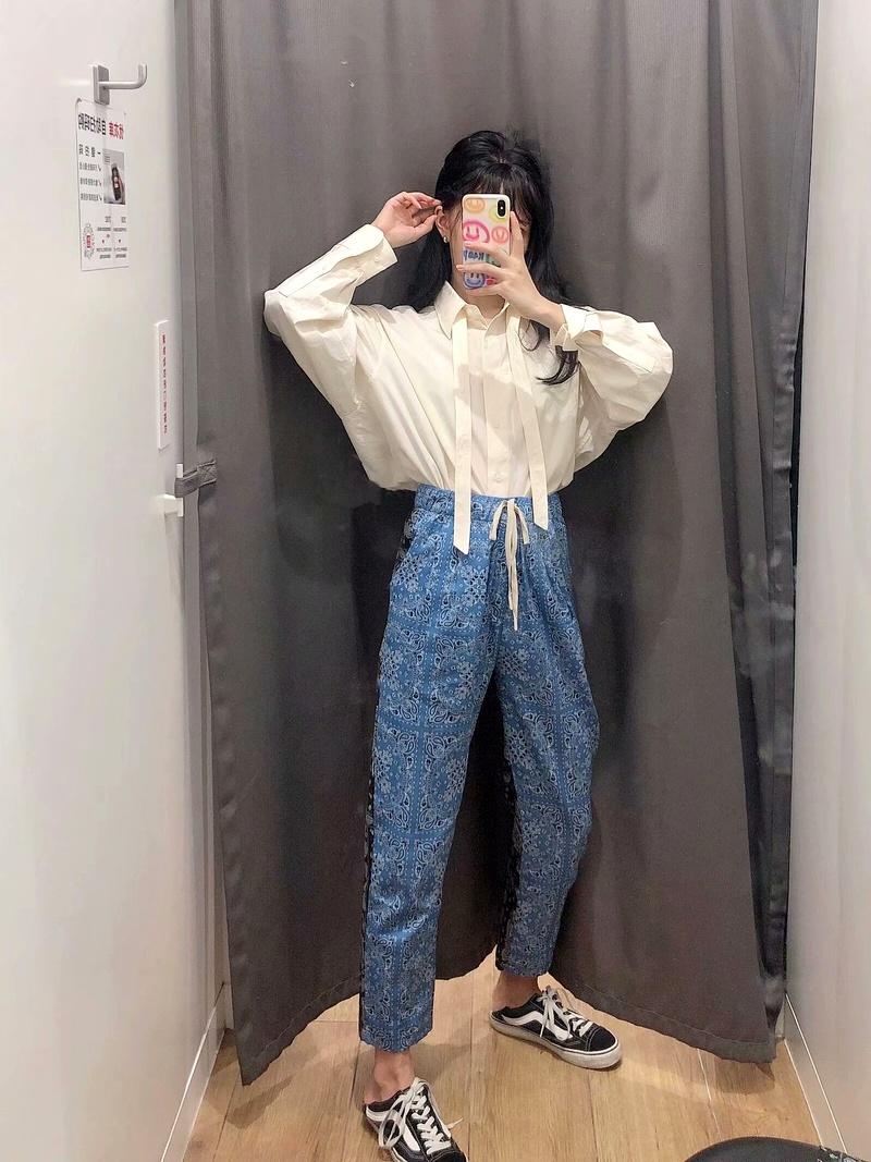 print pants women's casual pants NHAM287308