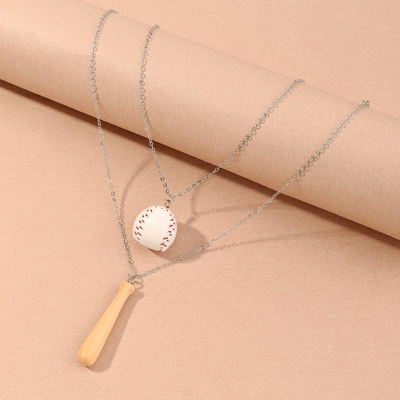 collier de baseball mignon pour enfants NHNU287424