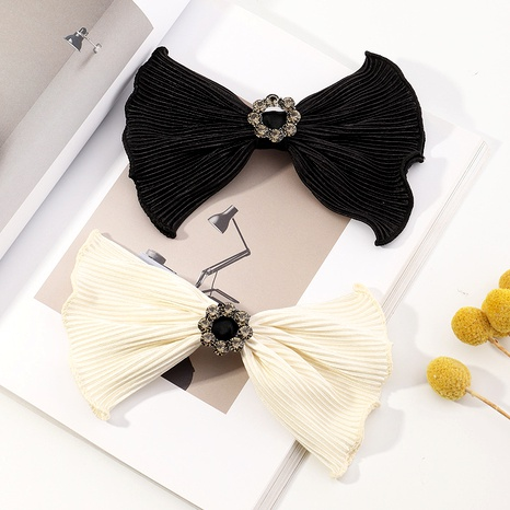 black bow lace hairpin  NHAU287426's discount tags