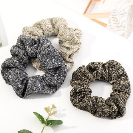 plush cute simple retro hair scrunchies NHAU287429's discount tags