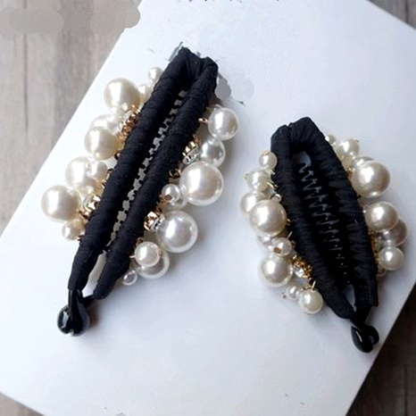 Small Beaded Crystal Hairpin  NHGE287445's discount tags
