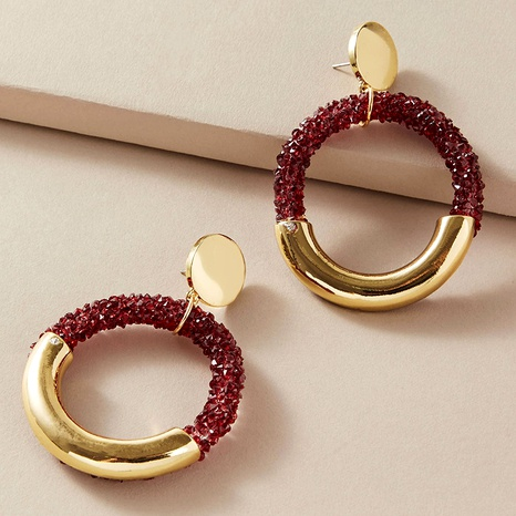 Fashion metal earrings  NHGY287750's discount tags