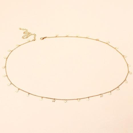 metal star waist chain NHRN287590's discount tags