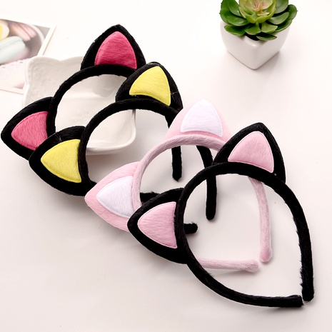 cute  wrapped fox cat ears hairband  NHGE287641's discount tags