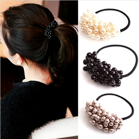 anneau de cheveux perlé perlé NHGE287646's discount tags