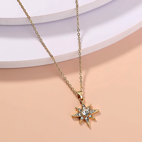 simple fashion sky star necklace NHAN287661's discount tags
