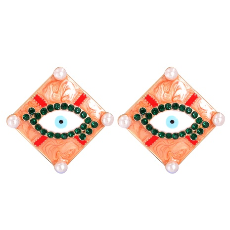 Devil's Eye Exaggerated Earrings  NHJJ287697's discount tags