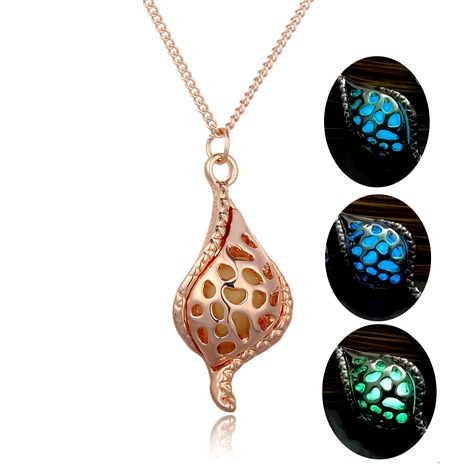new   hollow conch luminous necklace  NHAN287767's discount tags