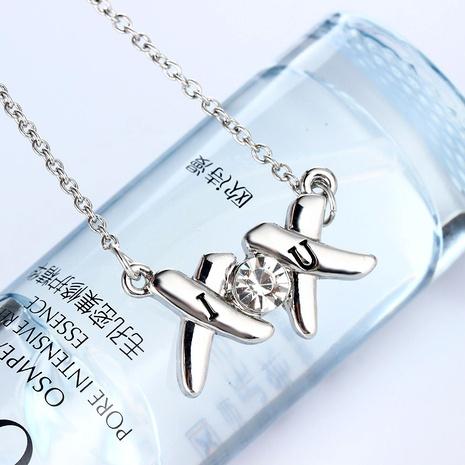 half diamond necklace  NHAN287769's discount tags
