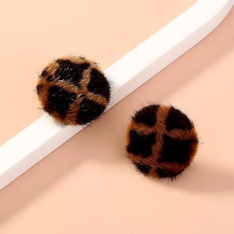 fashion hair ball earrings NHAN287784's discount tags